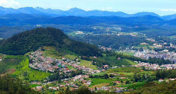 1 Day Ooty Trip from Coimbatore Tour Package with Doddabetta Peak
