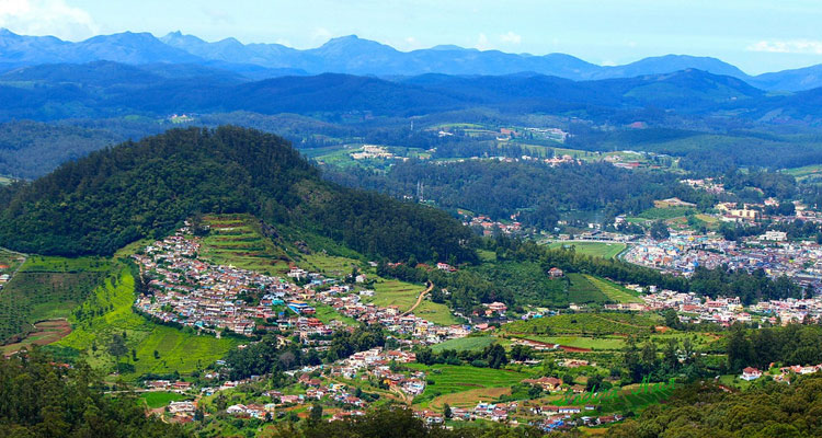 1 Day Ooty Town Tour Local Sightseeing Package with Doddabetta Peak